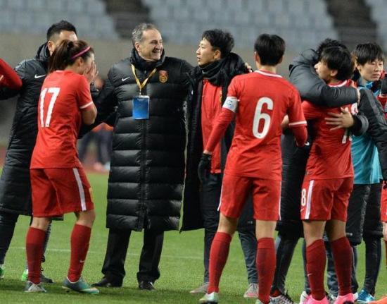 女足主帅布鲁诺:我感觉自己年轻了15岁