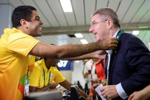 国际奥委会主席巴赫抵达里约:已感受到奥运热情