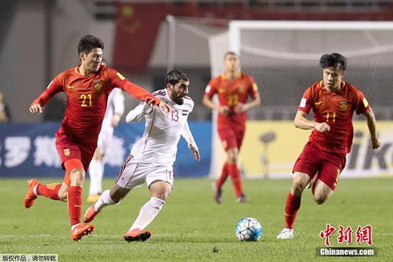 12强赛:中国队主场0-1不敌叙利亚出线形势堪忧