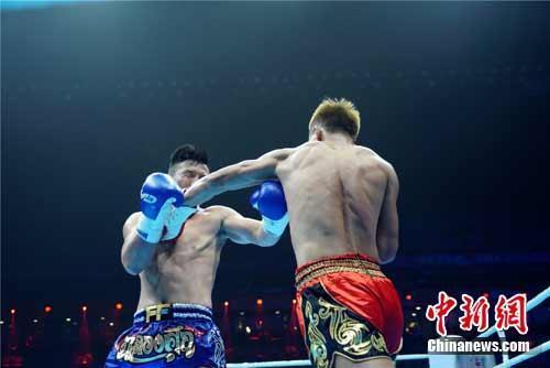 世界格斗冠军暨中国自由搏击职业联赛本赛季首赛落幕