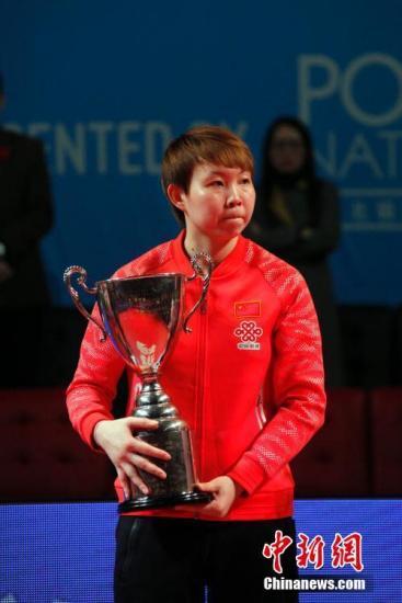 女子乒乓球世界杯月底打响朱雨玲成头号种子