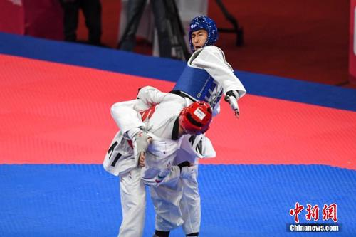 奥运冠军赵帅卫冕世锦赛金牌中国跆拳道队创佳绩