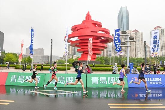 """2021青岛马拉松""""砰""""然开启打造高品质标杆级赛事"""