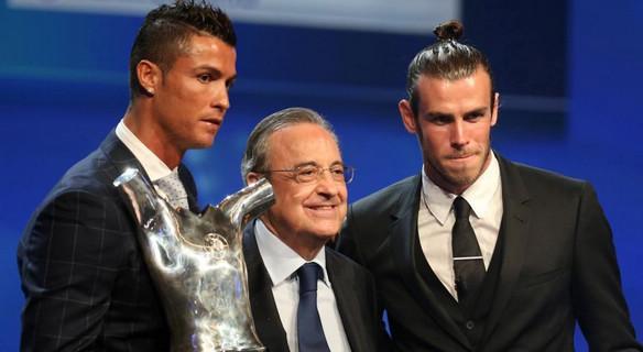 C罗力压贝尔格列兹曼 第2次荣膺欧洲最佳球员