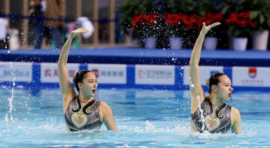 2019全国花样游泳锦标赛在武汉开赛