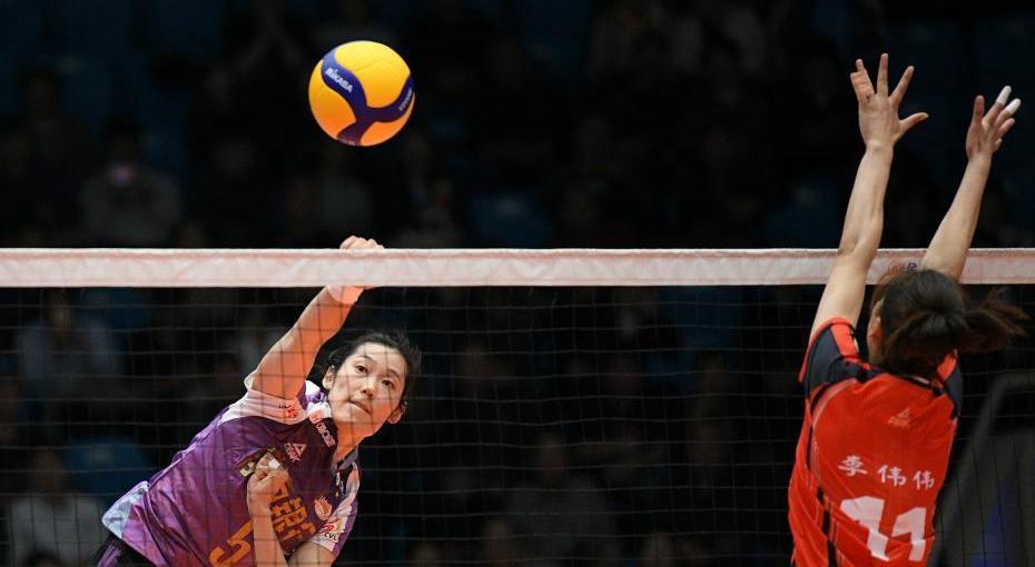 朱婷携天津女排夺取新赛季开门红