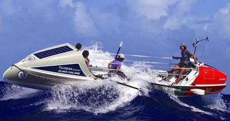 汕头大学女生划艇渡大西洋夺冠破世界纪录