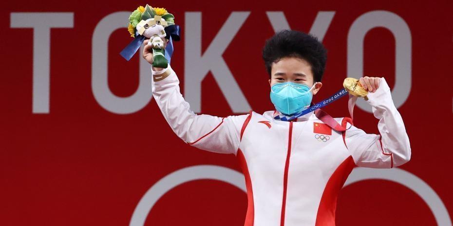 侯志慧女举49公斤级夺冠 拿下中国队东京奥运第二金