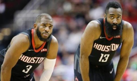 NBA季后赛:火箭118:98胜爵士 总比分2:0领先