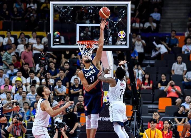 2019国际篮联篮球世界杯四分之一决赛:法国队晋级半决赛