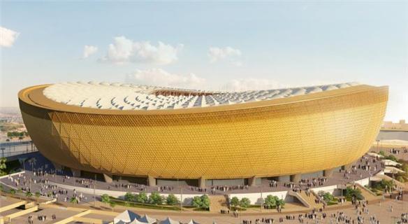 2022年世界杯主体育场外形揭晓 土豪金尽显奢华