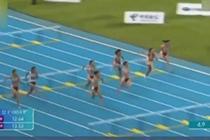 16岁女孩百米栏跑13秒30 破全国少年纪录