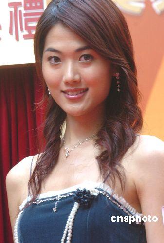 香港小姐林莉出席亮灯仪式图片