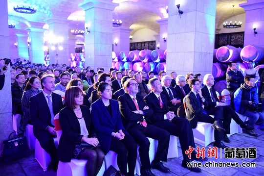 激情西班牙:张裕举行爱欧公爵中国上市酒会