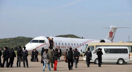 赵本山的私人飞机
