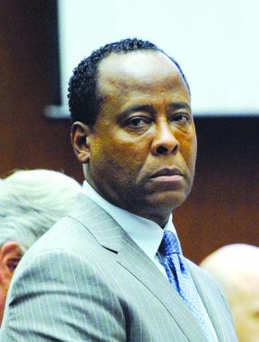 杰克逊私人医生申请上诉翻案求被当庭释放(图)