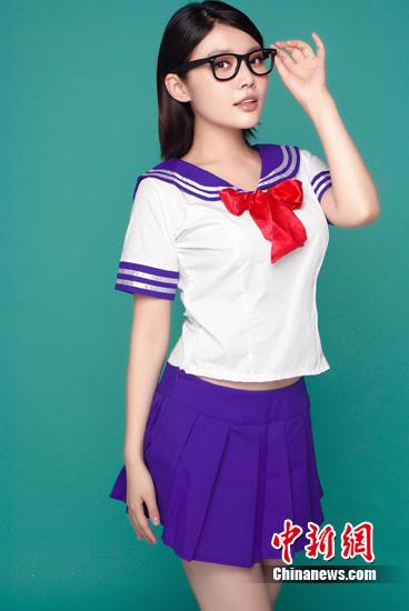 徐冬冬有望出演 美少女 真人版 制服诱惑惊艳(