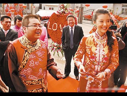 车晓当年与李兆会的婚礼轰动一时