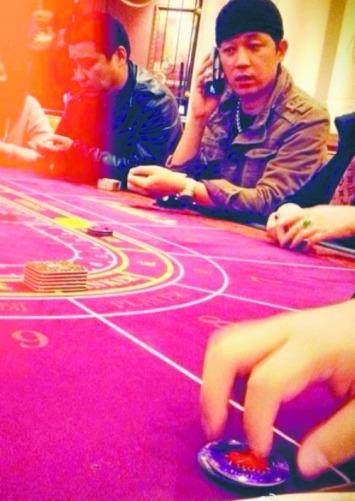 澳门赌场力证潘粤明非赌徒 拍照网友:他没输钱