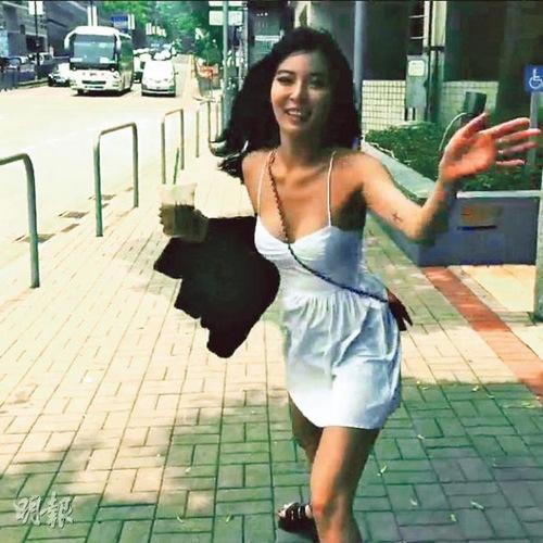 韩女星泫雅穿短裙展现性感好身材图 中新网