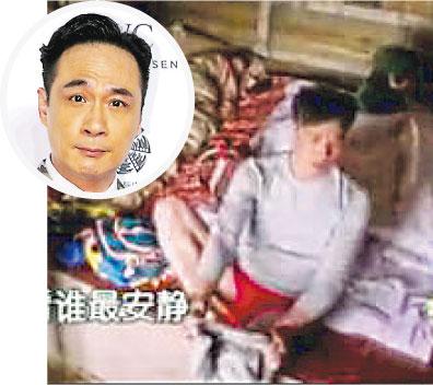 吴镇宇不满露内裤被调侃怒删儿子照片(图)