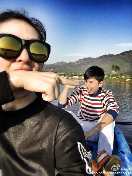 张杰:跟谢娜在一起后,整个世界打开了(图)