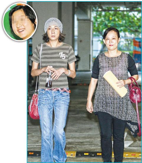 吴绮莉赴学校协调仍未见女儿吴卓林(图)