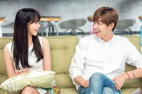 李敏镐与少女时代润娥扮校园情侣场面温馨(图)