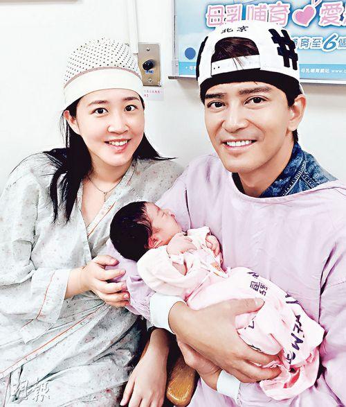 陈晓东亲为二胎女儿剪脐带暂不追生儿子