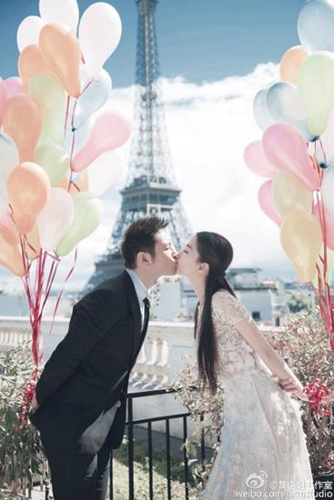 黄晓明婚前心情紧张称与爱妻交往6年仍似初恋(图)
