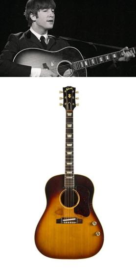 约翰·列侬吉他拍出241万美元已遗失50年(图)
