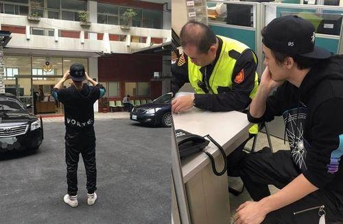 [明星爆料]吴克群爱车被撞首进警局做笔录 警察:是本人耶