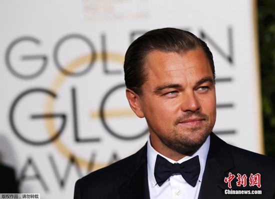[热点新闻]莱昂纳多再夺金球奖影帝 网友:集齐7个换小金人