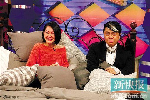 [热点新闻]小S曝蔡康永曾口误:怕笑场自己猛捏大腿(图)