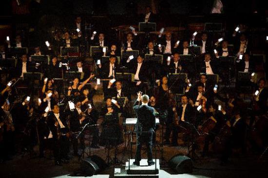[热点新闻]谭盾携手国家交响乐团打造盛典 巅峰之夜收官