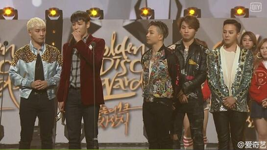 金唱片盛典落幕 BIGBANG获得三项大奖(图)