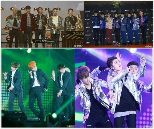韩娱三大盛典收官EXO与BIGBANG承包颁奖季大奖