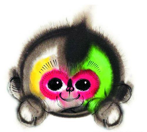 """[热点新闻]春晚吉祥物集多种猴子特征 脸上肉球系\""""双下巴\"""""""