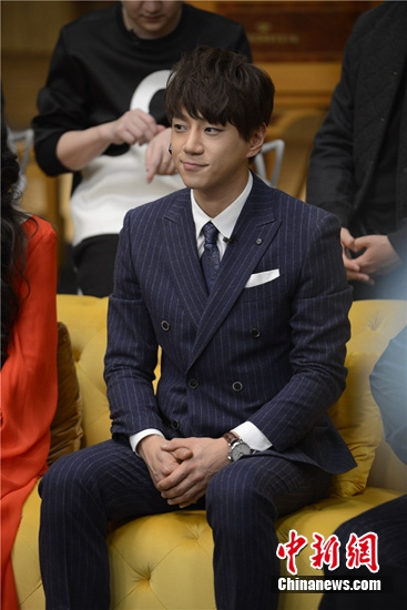 [热点新闻]韩星黄致列加盟湖南卫视春晚 将唱张学友歌曲(图)