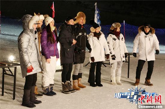 [热点新闻]于震《冰雪星动力》意外受伤 韩国男星千明勋加盟