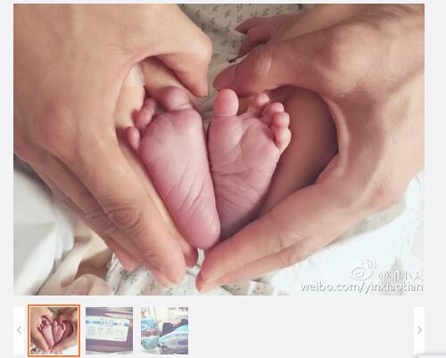 佟丽娅儿子出生杨幂、董璇等明星送上祝福(图)