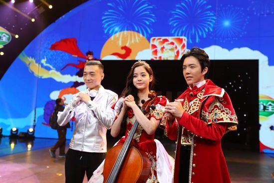 [热点新闻]李云迪欧阳娜娜联手跨界 创意音乐秀年味儿十足
