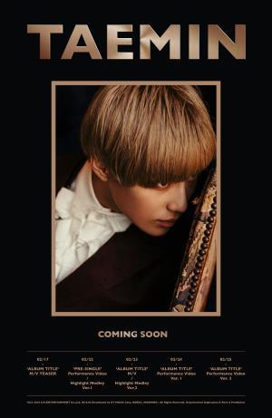 [热点新闻]SHINee泰民携首张SOLO专辑回归 于23日正式发布