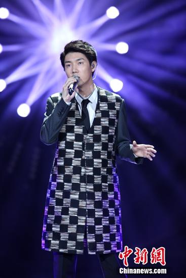 [热点新闻]王晰登《我是歌手4》:压力有点大,当歌手真好