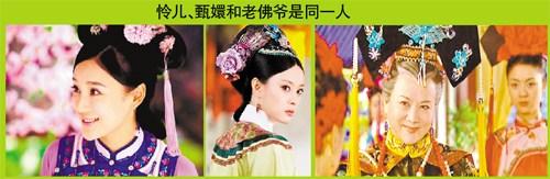 [热点新闻]角色连连看:怜儿、甄嬛和老佛爷是同一个人(图)
