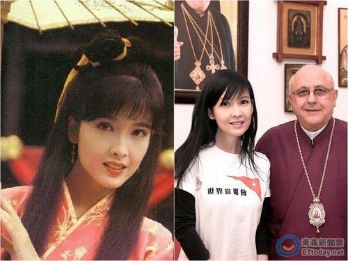 [热点新闻]周慧敏晒23年前古装照 与现今模样几乎无异(图)