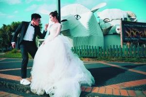 [热点新闻]吴奇隆刘诗诗婚纱照曝光 3月20日巴厘岛办婚礼