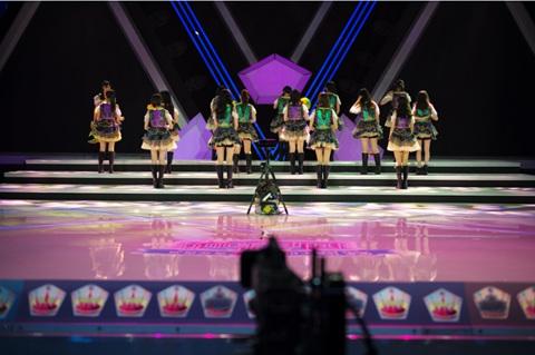 《国民美少女》将迎总决赛将进行VR技术直播