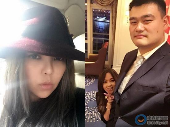 [热点新闻]张惠妹与姚明合影娇小可爱 网友:最狂身高差(图)