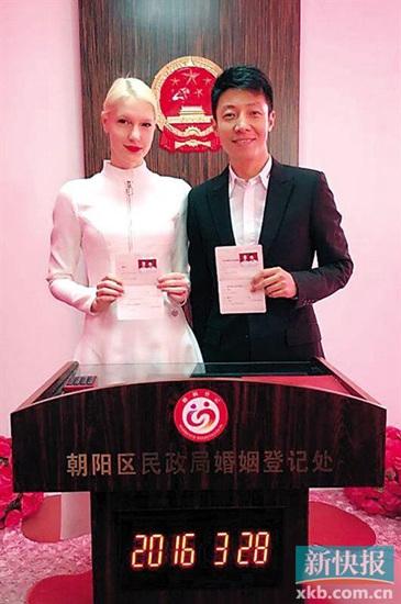 [热点新闻]撒贝宁与女友登记结婚 被曝将于4月在武汉举行婚礼